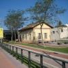 La estación del Carrilet, en Santa Cristina d'Aro