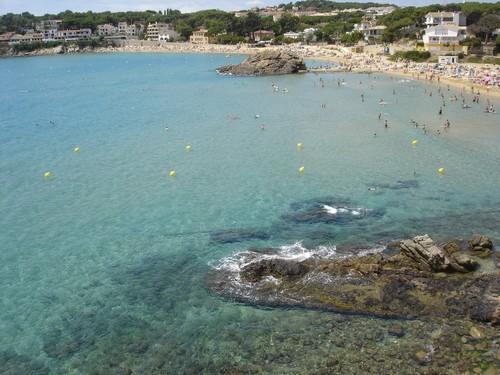 Cala Fosca, en Palamós, Girona, Costa Brava